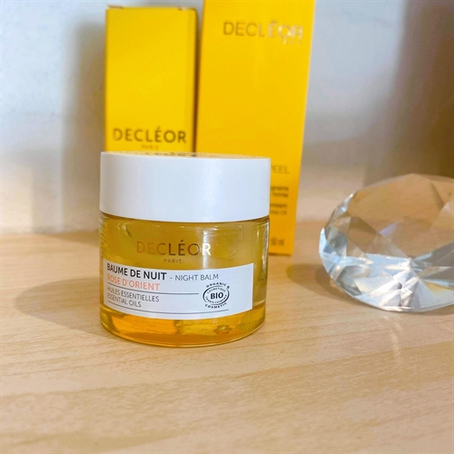Decléor - Rose Damascena Organic Night Balm 15ml.