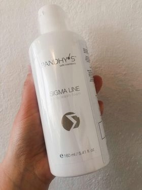 Sigma Line Body Wash Foam 160 ml.