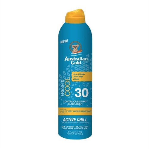 Solcreme Active Chill Faktor 30 cont. spray